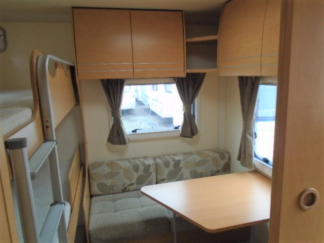Bailey Olympus 546 6 Berth Fixed Triple Bunk For Sale