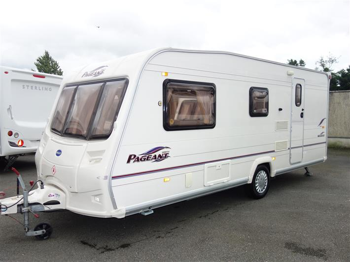 2005 Bailey Pageant Mosselle 4 Berth End Bathroom Caravan